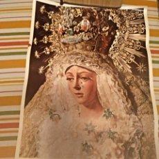 Carteles de Semana Santa: CARTEL SEMANA SANTA DE SEVILLA DE 1971 FOTO EMILIO SÁENZ 70X44,5 CENTÍMETROS. Lote 187468057