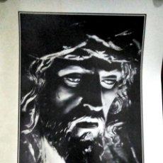Carteles de Semana Santa: CARTEL. JEREZ. LA MIRADA DE JESUS DE LA SALUD. EDUARDO PEREIRAS.. Lote 152978074