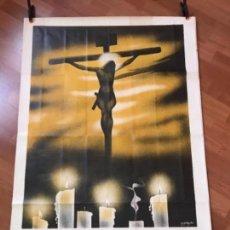 Carteles de Semana Santa: CARTEL SEMANA SANTA DE ALICANTE 1944. Lote 154116146