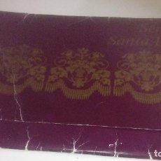 Carteles de Semana Santa: G-90VIS90 SEMANA SANTA ISLEÑA LOTE DE 38 LAMINAS CON LA CARPETA UNICO. Lote 154415670