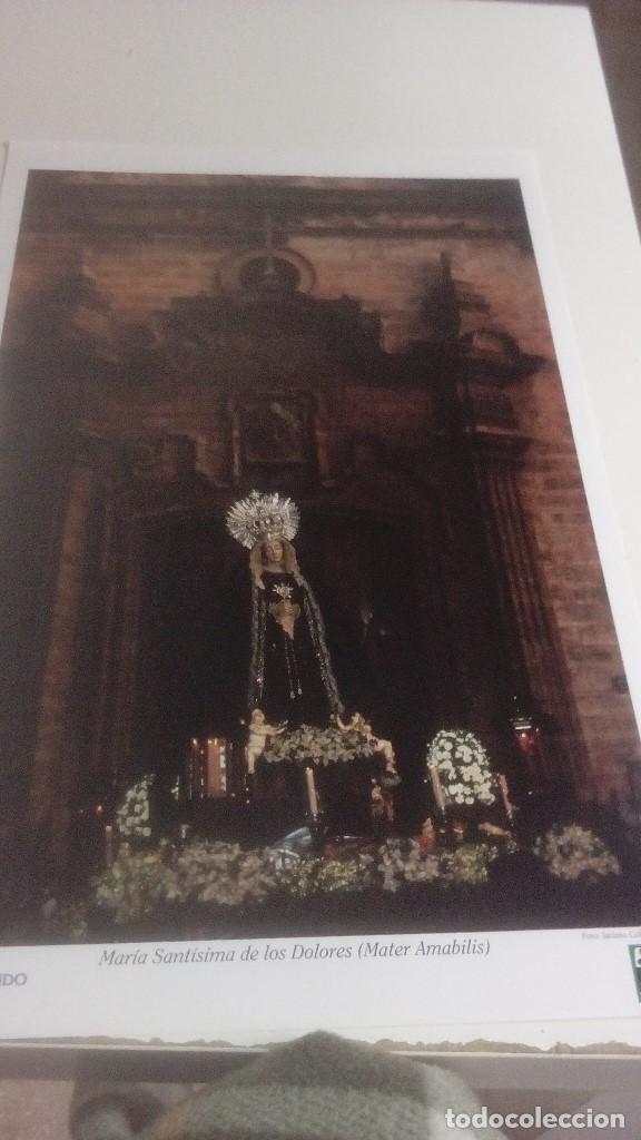 Carteles de Semana Santa: G-90VIS90 SEMANA SANTA ISLEÑA LOTE DE 38 LAMINAS CON LA CARPETA UNICO - Foto 2 - 154415670