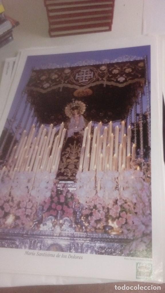Carteles de Semana Santa: G-90VIS90 SEMANA SANTA ISLEÑA LOTE DE 38 LAMINAS CON LA CARPETA UNICO - Foto 3 - 154415670
