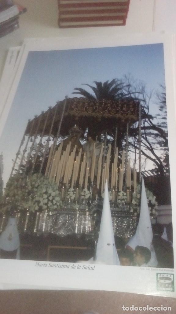 Carteles de Semana Santa: G-90VIS90 SEMANA SANTA ISLEÑA LOTE DE 38 LAMINAS CON LA CARPETA UNICO - Foto 5 - 154415670