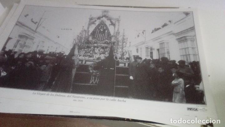 Carteles de Semana Santa: G-90VIS90 SEMANA SANTA ISLEÑA LOTE DE 38 LAMINAS CON LA CARPETA UNICO - Foto 6 - 154415670