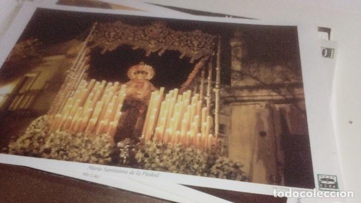 Carteles de Semana Santa: G-90VIS90 SEMANA SANTA ISLEÑA LOTE DE 38 LAMINAS CON LA CARPETA UNICO - Foto 7 - 154415670