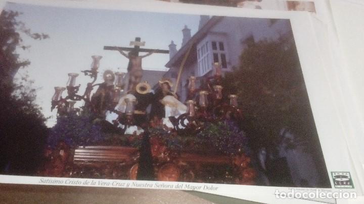 Carteles de Semana Santa: G-90VIS90 SEMANA SANTA ISLEÑA LOTE DE 38 LAMINAS CON LA CARPETA UNICO - Foto 10 - 154415670