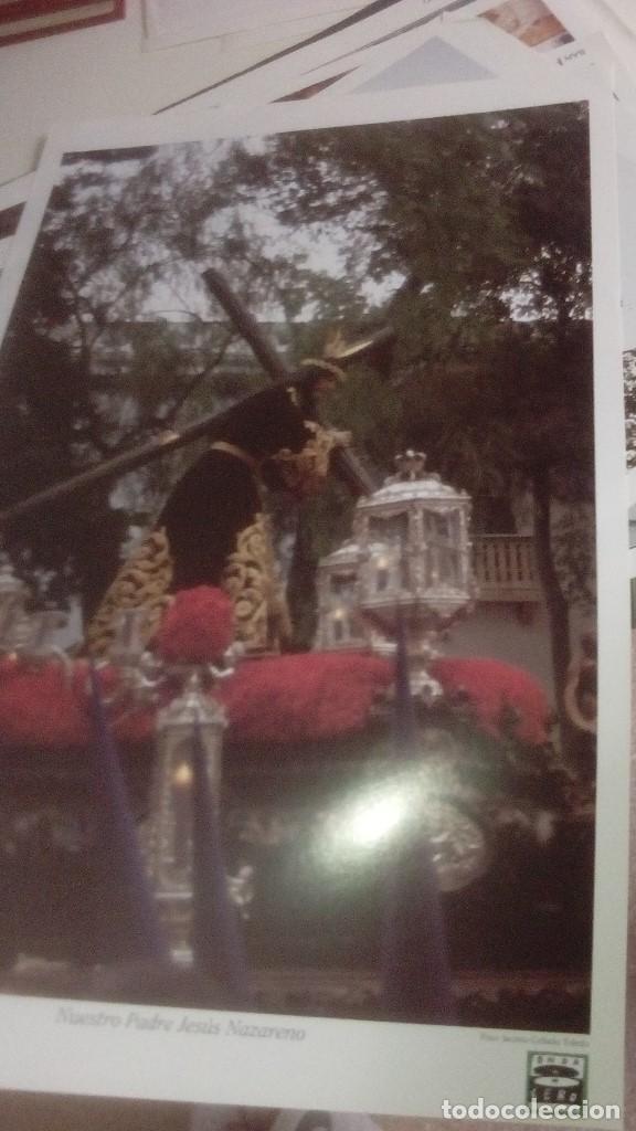 Carteles de Semana Santa: G-90VIS90 SEMANA SANTA ISLEÑA LOTE DE 38 LAMINAS CON LA CARPETA UNICO - Foto 12 - 154415670