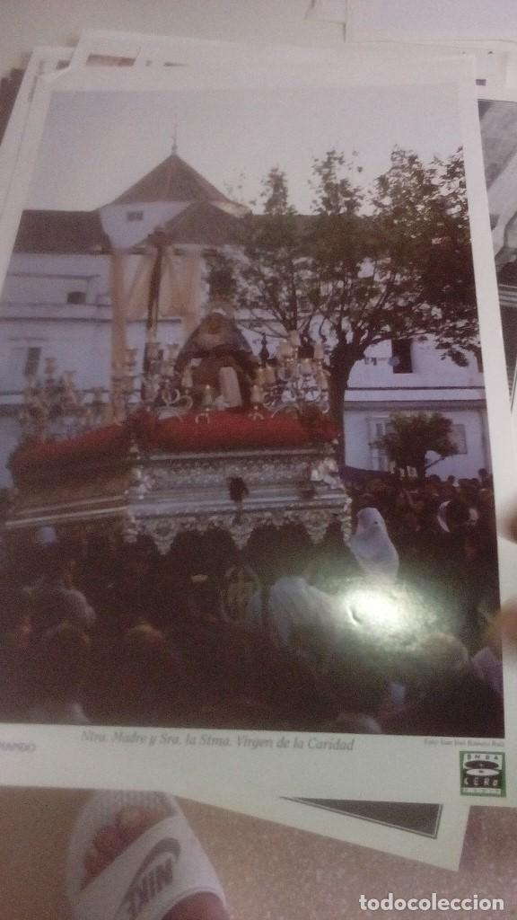 Carteles de Semana Santa: G-90VIS90 SEMANA SANTA ISLEÑA LOTE DE 38 LAMINAS CON LA CARPETA UNICO - Foto 13 - 154415670