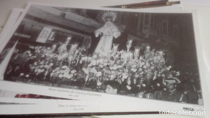 Carteles de Semana Santa: G-90VIS90 SEMANA SANTA ISLEÑA LOTE DE 38 LAMINAS CON LA CARPETA UNICO - Foto 14 - 154415670