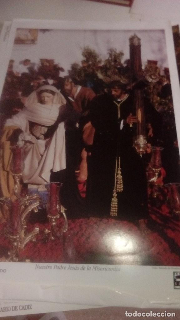 Carteles de Semana Santa: G-90VIS90 SEMANA SANTA ISLEÑA LOTE DE 38 LAMINAS CON LA CARPETA UNICO - Foto 15 - 154415670