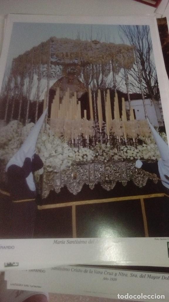 Carteles de Semana Santa: G-90VIS90 SEMANA SANTA ISLEÑA LOTE DE 38 LAMINAS CON LA CARPETA UNICO - Foto 17 - 154415670