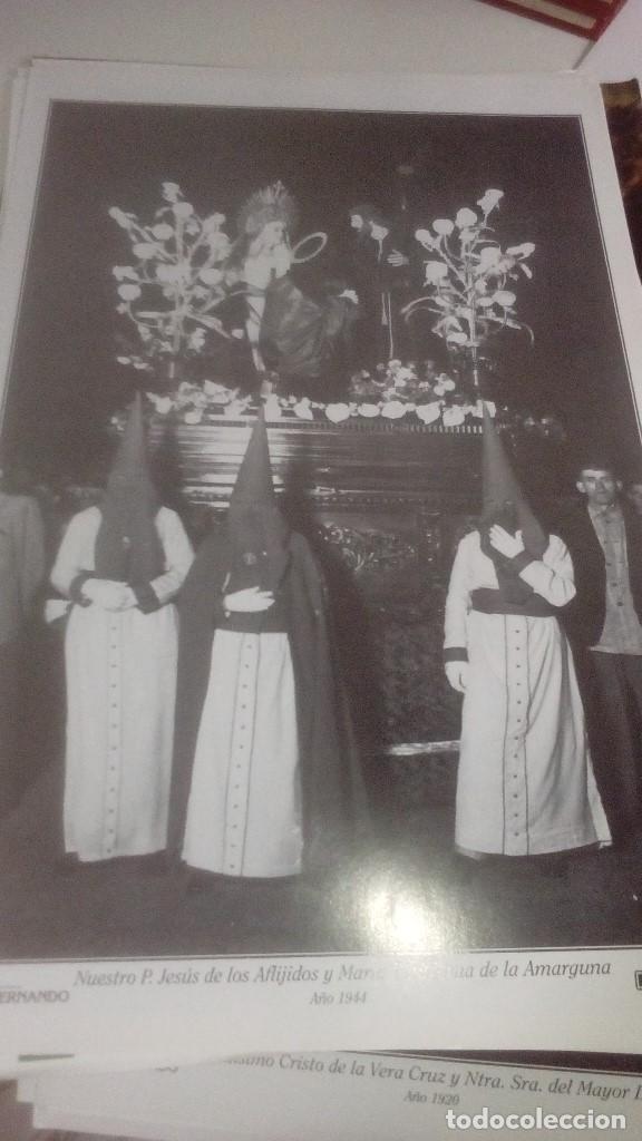 Carteles de Semana Santa: G-90VIS90 SEMANA SANTA ISLEÑA LOTE DE 38 LAMINAS CON LA CARPETA UNICO - Foto 18 - 154415670