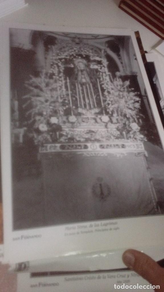 Carteles de Semana Santa: G-90VIS90 SEMANA SANTA ISLEÑA LOTE DE 38 LAMINAS CON LA CARPETA UNICO - Foto 21 - 154415670