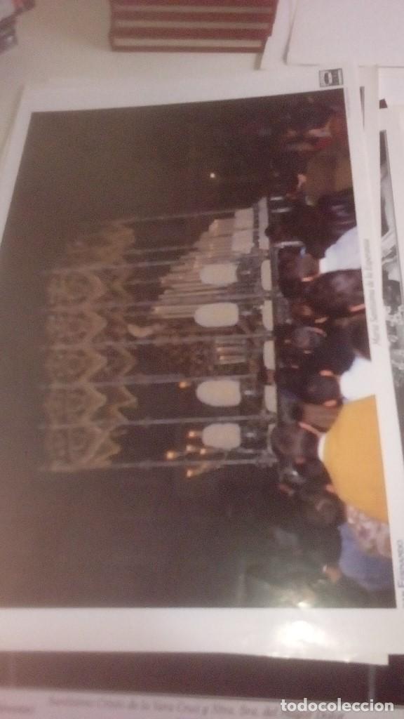 Carteles de Semana Santa: G-90VIS90 SEMANA SANTA ISLEÑA LOTE DE 38 LAMINAS CON LA CARPETA UNICO - Foto 26 - 154415670