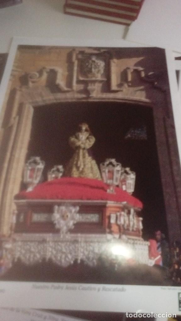 Carteles de Semana Santa: G-90VIS90 SEMANA SANTA ISLEÑA LOTE DE 38 LAMINAS CON LA CARPETA UNICO - Foto 31 - 154415670