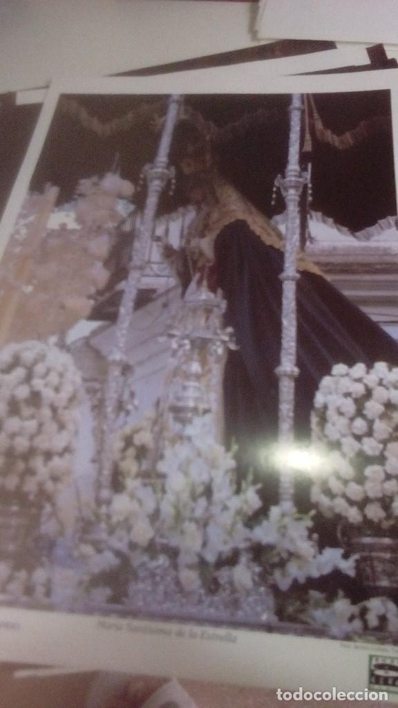 Carteles de Semana Santa: G-90VIS90 SEMANA SANTA ISLEÑA LOTE DE 38 LAMINAS CON LA CARPETA UNICO - Foto 33 - 154415670