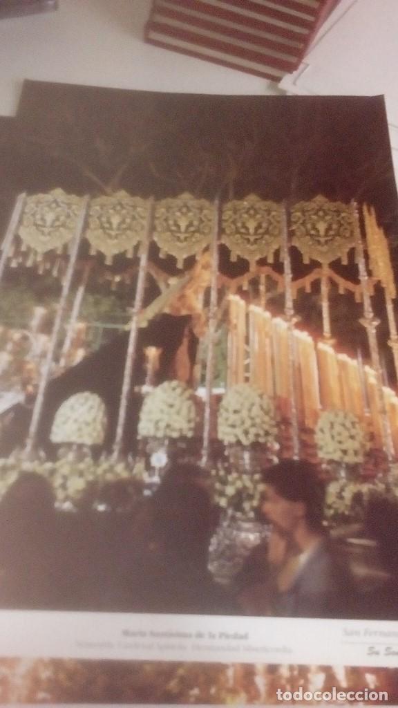 Carteles de Semana Santa: G-90VIS90 SEMANA SANTA ISLEÑA LOTE DE 38 LAMINAS CON LA CARPETA UNICO - Foto 37 - 154415670