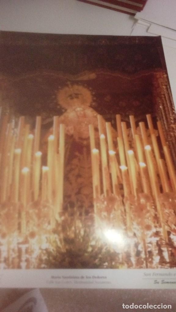 Carteles de Semana Santa: G-90VIS90 SEMANA SANTA ISLEÑA LOTE DE 38 LAMINAS CON LA CARPETA UNICO - Foto 38 - 154415670