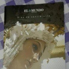 Carteles de Semana Santa: -74374 ITINERARIO Y HORARIOS SEMANA SANTA DE MALAGA, AÑO 2009, PUBLICIDAD UNICAJA. Lote 155709158