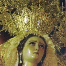 Carteles de Semana Santa: -74386 ITINERARIO Y HORARIOS SEMANA SANTA DE MALAGA, AÑO 2008, PUBLICIDAD CONFITERÍA CARMEN. Lote 155713234