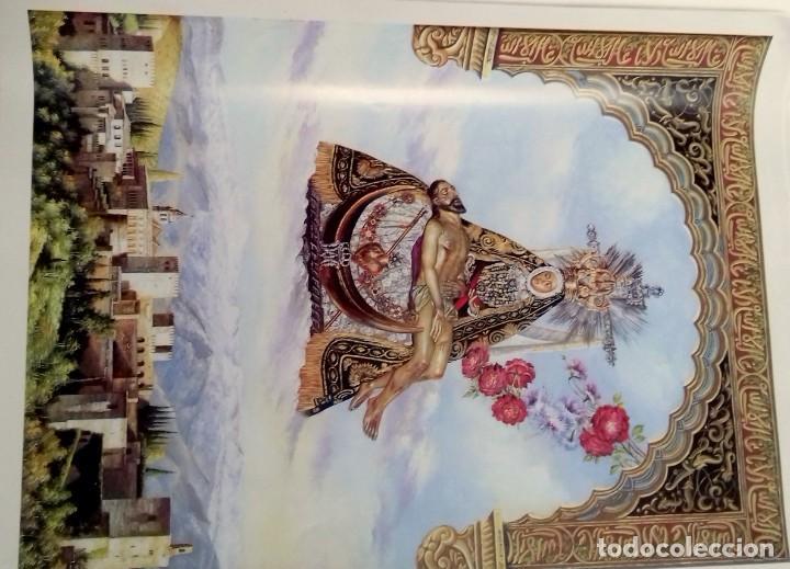 Carteles de Semana Santa: HIPOLITO LLANES, ANTOLOGIA POÉTICA Y OFREDA FLORAL VIRGEN DE LAS ANGUSTIAS, GRANADA, 10 laminas - Foto 2 - 155807614
