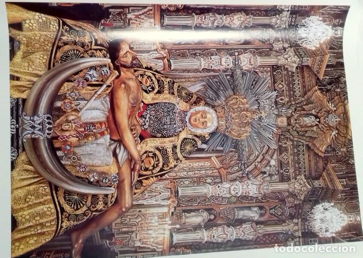 Carteles de Semana Santa: HIPOLITO LLANES, ANTOLOGIA POÉTICA Y OFREDA FLORAL VIRGEN DE LAS ANGUSTIAS, GRANADA, 10 laminas - Foto 3 - 155807614