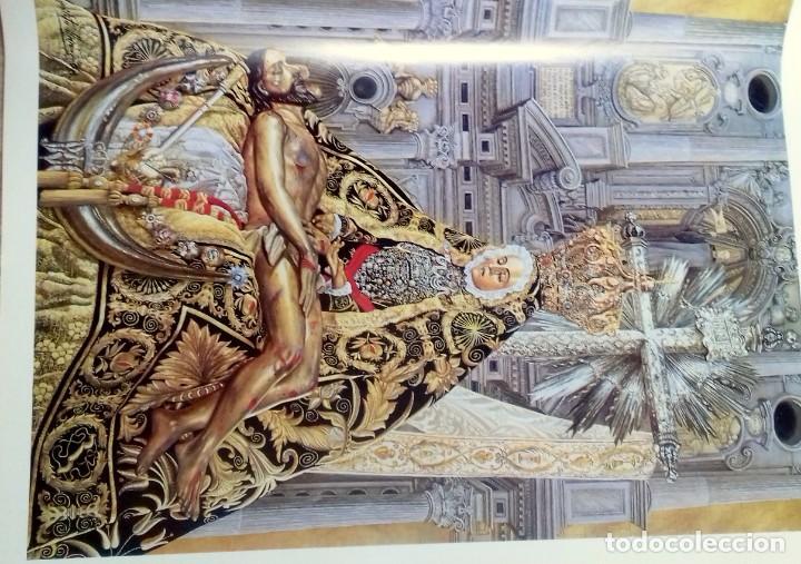 Carteles de Semana Santa: HIPOLITO LLANES, ANTOLOGIA POÉTICA Y OFREDA FLORAL VIRGEN DE LAS ANGUSTIAS, GRANADA, 10 laminas - Foto 4 - 155807614
