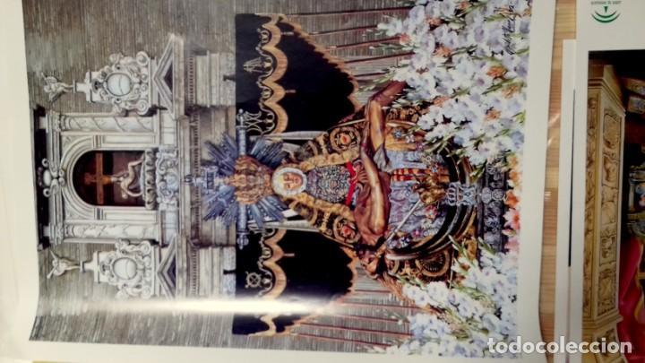 Carteles de Semana Santa: HIPOLITO LLANES, ANTOLOGIA POÉTICA Y OFREDA FLORAL VIRGEN DE LAS ANGUSTIAS, GRANADA, 10 laminas - Foto 5 - 155807614