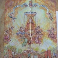 Carteles de Semana Santa: CARTEL ROMERIA VIRGEN DE MONTEMAYOR ( MOGUER, HUELVA ) 2000.. Lote 156796850