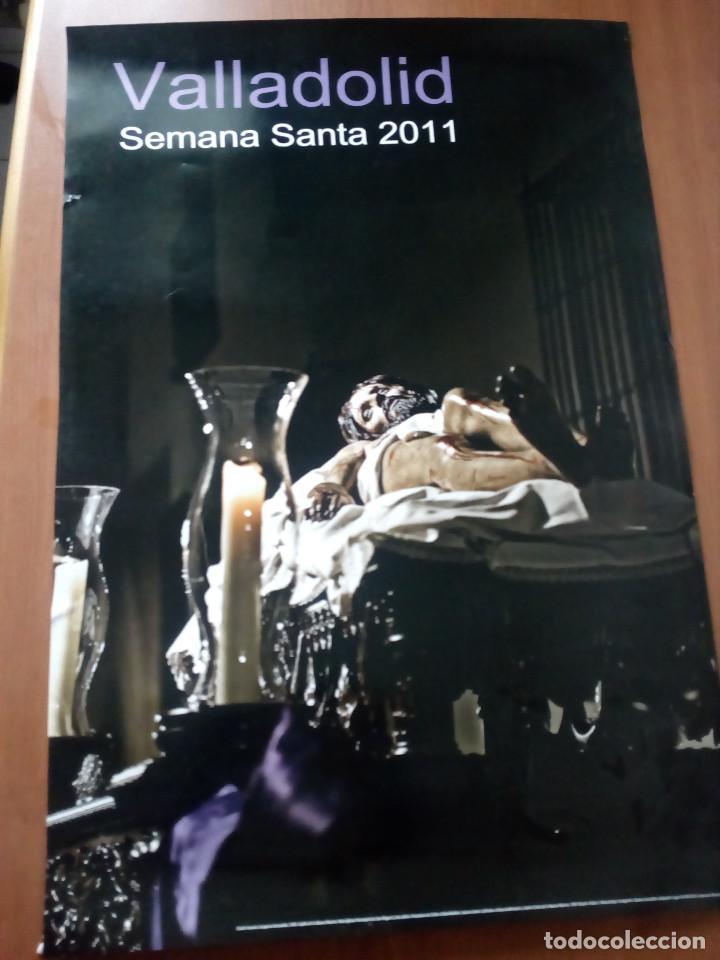 CARTEL SEMANA SANTA VALLADOLID,CRISTO YACENTE.AÑO 2011. (Coleccionismo - Carteles Gran Formato - Carteles Semana Santa)