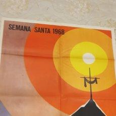 Carteles de Semana Santa: SEMANA SANTA GANDIA .CARTEL.1968,. Lote 161456186