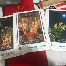 Carteles de Semana Santa: LOTE POSTERS PUBLICITARIOS DIARIO 16 SEMANA SANTA SEVILLA 1993. Lote 161556596