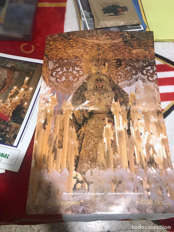 Carteles de Semana Santa: LOTE POSTERS PUBLICITARIOS DIARIO 16 SEMANA SANTA SEVILLA 1993 - Foto 3 - 161556596
