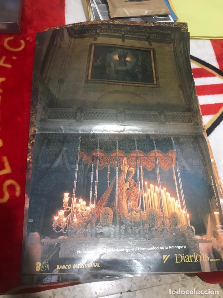 Carteles de Semana Santa: LOTE POSTERS PUBLICITARIOS DIARIO 16 SEMANA SANTA SEVILLA 1993 - Foto 5 - 161556596
