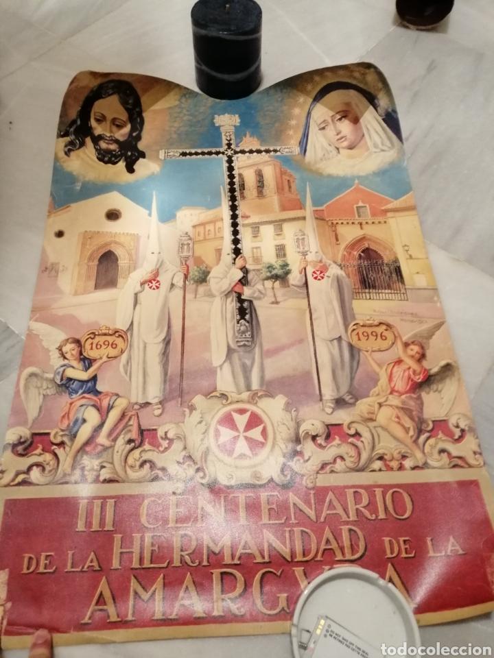 CARTEL CONMEMORATIVO III CENTENARIO HERMANDAD AMARGURA. SEVILLA. 1996 (Coleccionismo - Carteles Gran Formato - Carteles Semana Santa)