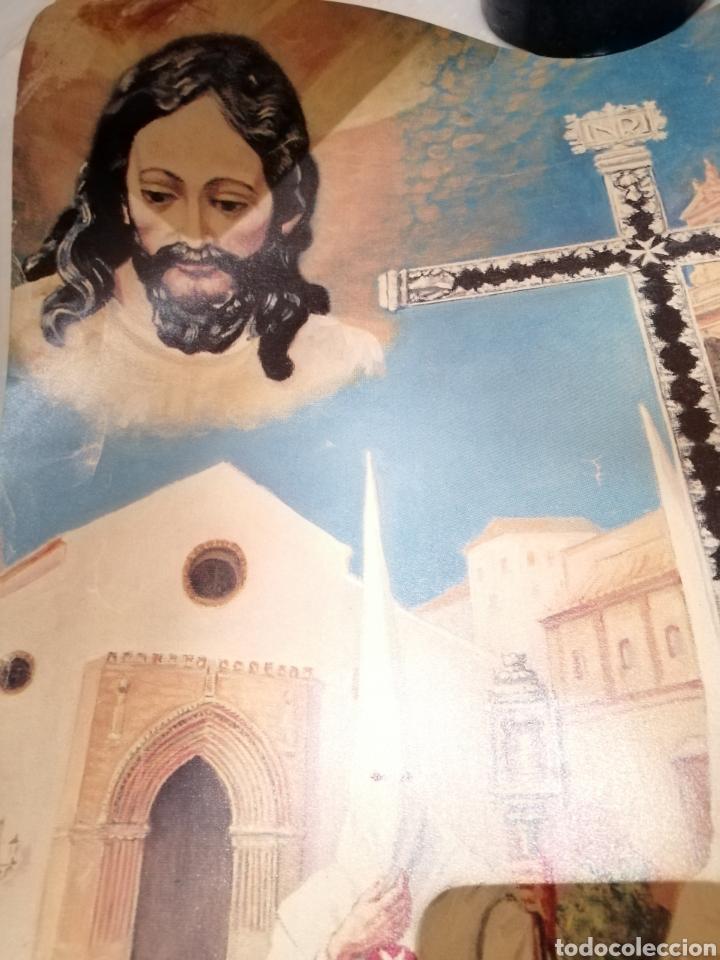 Carteles de Semana Santa: CARTEL CONMEMORATIVO III CENTENARIO HERMANDAD AMARGURA. SEVILLA. 1996 - Foto 2 - 162363064