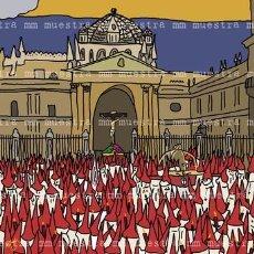 Carteles de Semana Santa: SEMANA SANTA ZAMORA POSTER SILENCIO 50X70 CM. Lote 166214097