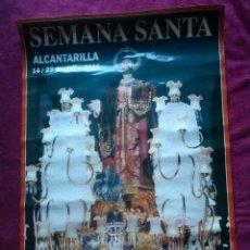 Carteles de Semana Santa: LÁMINA POSTER SAN PEDRO SEMANA SANTA ALCANTARILLA MURCIA AÑO 2000 / 48 X 68 CM. Lote 166574040