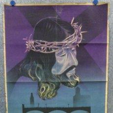 Carteles de Semana Santa: SEMANA SANTA GERONA. AÑO 1947. CARTEL LITOGRAFICO - ILUSTRADOR MARTINEZ BIGORDA. Lote 167726272