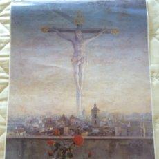 Carteles de Semana Santa: CARTEL POSTER RELIGIOSO SEMANA SANTA DE MÁLAGA 1995. 69 X 46 CM. . Lote 170179472