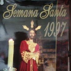 Carteles de Semana Santa: CARTEL. PUERTO DE SANTA MARIA. SEMANA SANTA 1997. MEDIDAS: 69.5 X 40.5 CM. APROX.. Lote 171368237