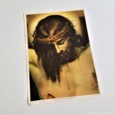 Carteles de Semana Santa: LAMINA VELÁZQUEZ, CRISTO CRUCIFICADO, FRAGMENTO - 17 X 24.5.CM. Lote 171809778