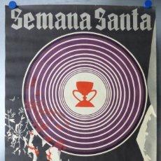 Carteles de Semana Santa: VALENCIA - SEMANA SANTA - LITOGRAFIA ORTEGA - AÑO 1972. Lote 172640093