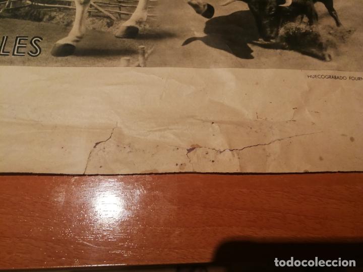 Carteles de Semana Santa: CARTEL SEMANA SANTA SEVILLA 1944 ORIGINAL FOTOGRAFO SERRANO HUECOGRABADO FOURNIER VICTORIA - Foto 7 - 172963073