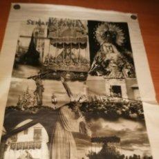 Carteles de Semana Santa: CARTEL SEMANA SANTA SEVILLA 1944 ORIGINAL FOTOGRAFO SERRANO HUECOGRABADO FOURNIER VICTORIA. Lote 172963073