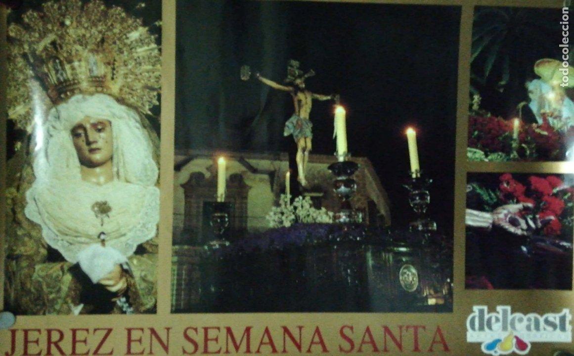 CARTEL. JEREZ EN SEMANA SANTA. (Coleccionismo - Carteles Gran Formato - Carteles Semana Santa)
