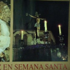 Carteles de Semana Santa: CARTEL. JEREZ EN SEMANA SANTA.. Lote 175161743
