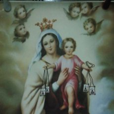 Carteles de Semana Santa: CARTEL. VIRGEN DEL CARMEN.. Lote 175162363
