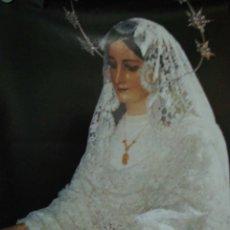 Carteles de Semana Santa: CARTEL. MARIA SANTISIMA DEL ROCIO. ( MALAGA ).. Lote 175162373