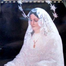 Carteles de Semana Santa: LAMINA. MARIA SANTISIMA DEL ROCIO. MALAGA.. Lote 175295650